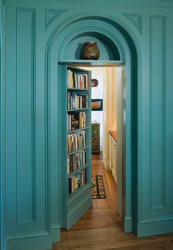... double-bookcase-door-600 & Book Door Lookbook   Cafe Book Bean
