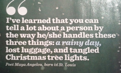 rainy day quote by maya angelou