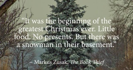 the book thief quotes christmas funny sad