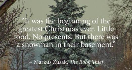 the book thief quotes christmas funny sad