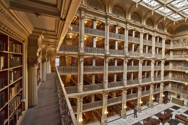 baltimore george peabody library