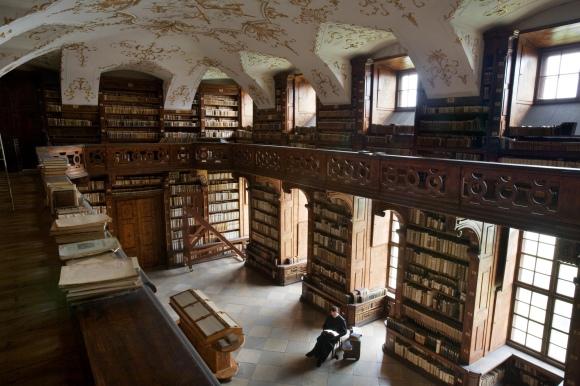 Göttweig Abbey library, Austria